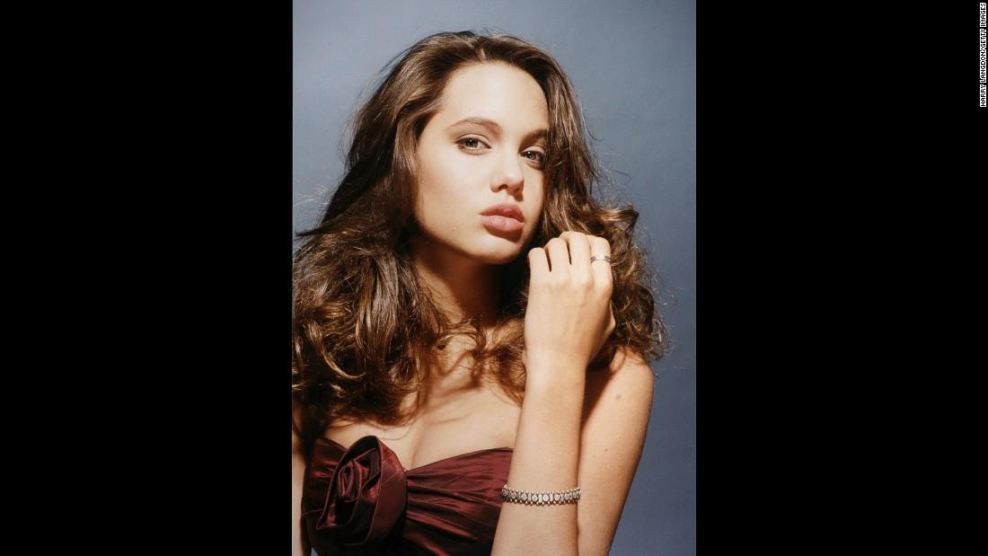 Angelina Jolie, before she was famous Angelina Jolie