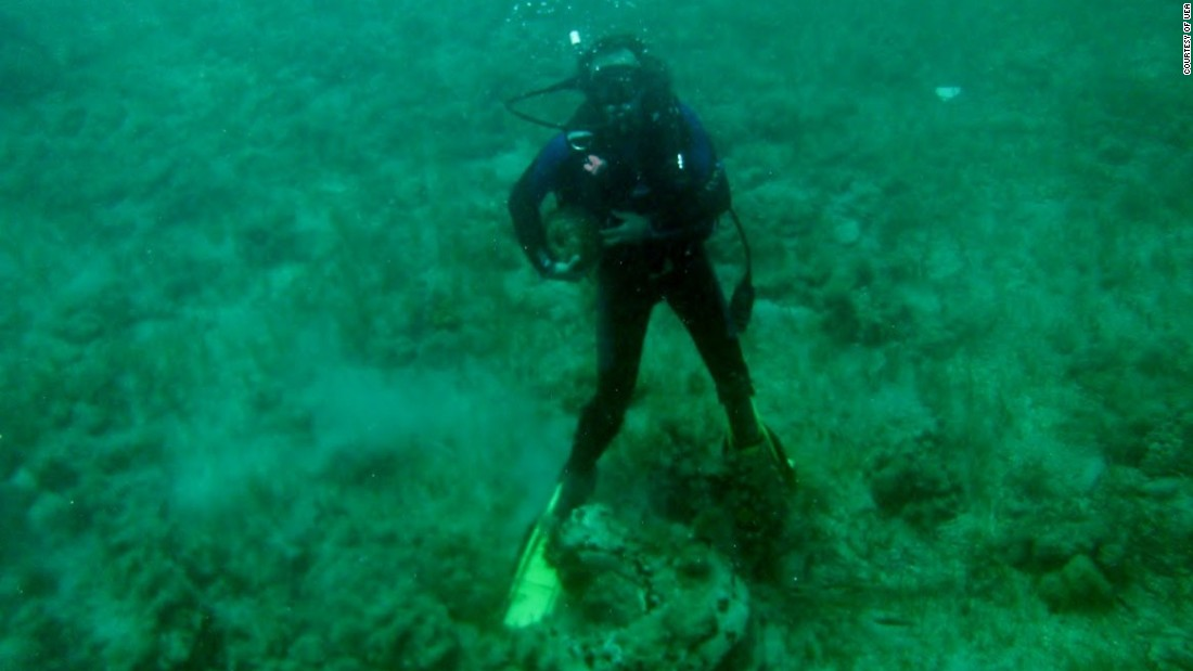 Underwater 'lost city' is a natural phenomenon, say scientists