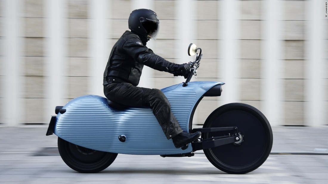 The Futuristic E-bikes With Traffic-stopping Looks