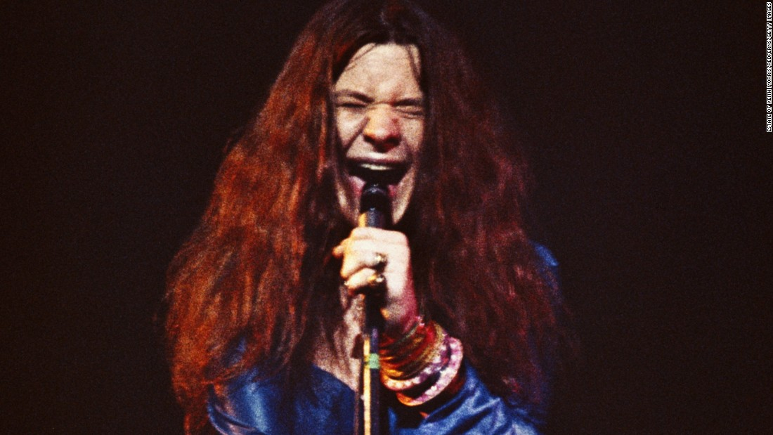 Considered one of the premier female rock singers of her time, Janis Joplin was found dead in her apartment on October 4, 1970, from an overdose of heroin. She was 27 years old.