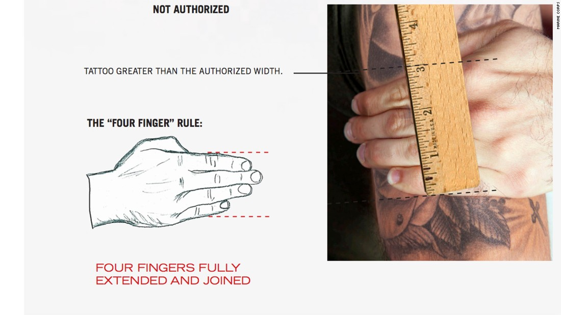 Marines ink new tattoo rules - CNNPolitics.com