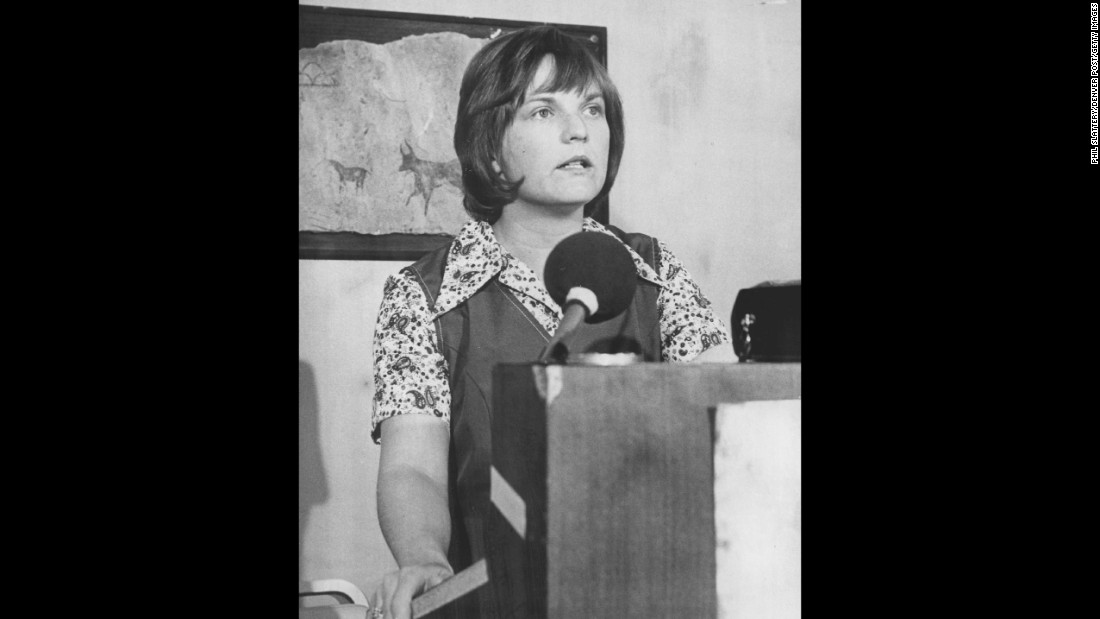Linda Jenness was the Socialist Workers Party candidate for president in 1972.