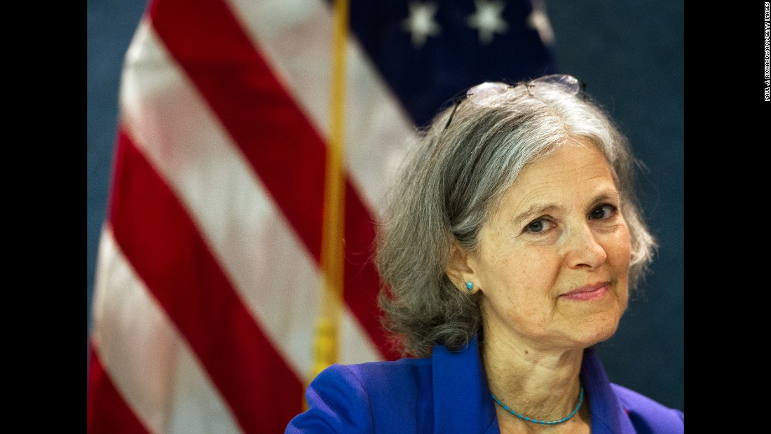 Dr. Jill Stein is the 2016 Green Party presidential candidate. She was also the party's presidential candidate in 2012.
