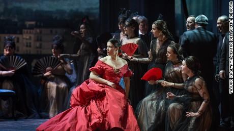 La traviata, regia di Sofia Coppola, Francesca Dotto(Violetta)