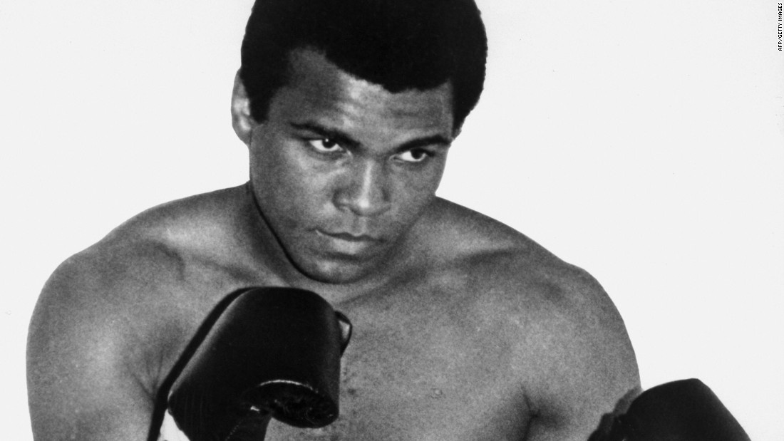 "<a href=""http://www.cnn.com/2016/06/04/world/muhammad-ali-obituary/index.html"" target=""_blank"">Muhammad Ali</a>, the three-time heavyweight boxing champion who called himself ""The Greatest,"" died on June 3 at the age of 74. Fans on every continent adored him, and at one point he was the probably the most recognizable man on the planet."