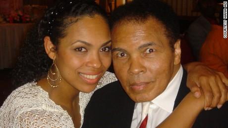 My dad, Muhammad Ali