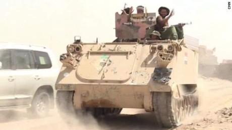 iraq advance falluja ben wedeman pkg_00001403