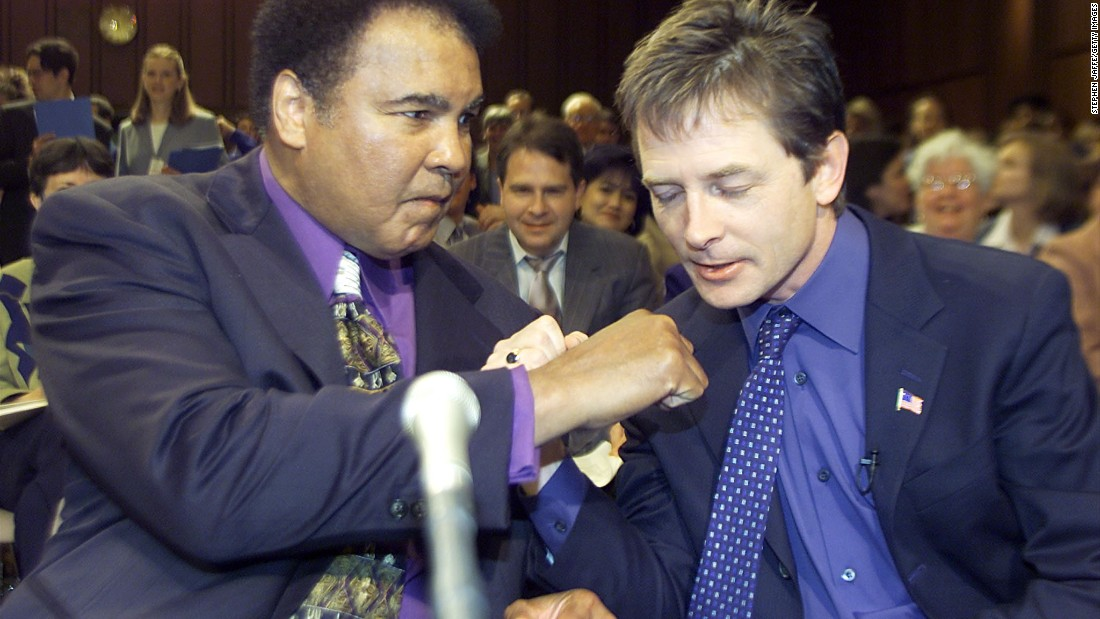 How Muhammad Ali gave a doctor 'the gift of courage'