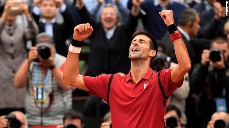 Novak Djokovic wins French Open