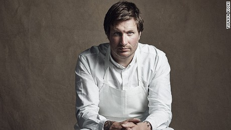 Esben Holmboe Bang, head chef and co-owner of Maaemo, the three-Michelin-starred restaurant in Oslo, Norway