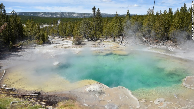 The park website describes the basin as the hottest thermal area in Yellowstone.
