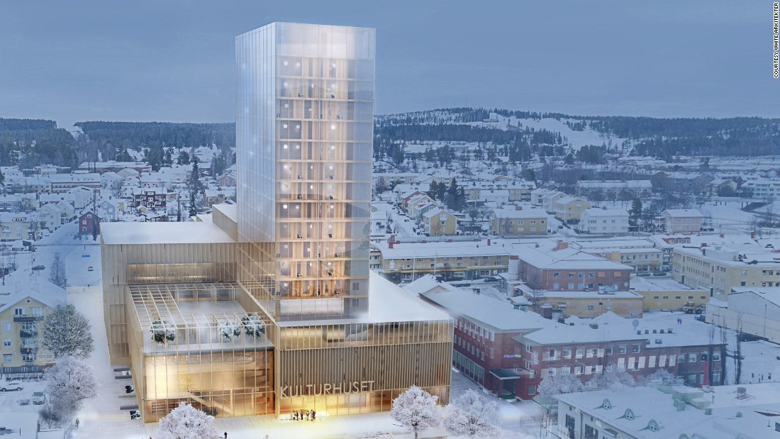 "The ""Sida Vid Sida"" (""side by side"") building is a proposed project by Swedish architects White Arkitekter."