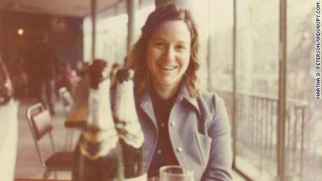 Martha Peterson enjoys a short break in Tbilisi, Georgia in 1976, on the sidelines of her CIA mission in Soviet Russia.