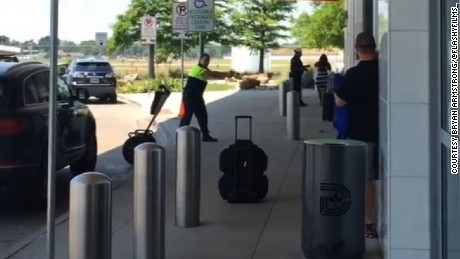 title: I just got off the plane at Dallas Lovefield airport and this what I come out to 😳. You can use this footage with video credit to Bryan Armstrong/ @flashyfilms_  #DallasLoveFieldShooting duration: 00:00:00 site: Instagram author: null published: Wed Dec 31 1969 19:00:00 GMT-0500 (Eastern Standard Time) intervention: no description: null