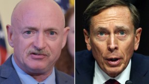 David Petraeus, Mark Kelly launch gun control group