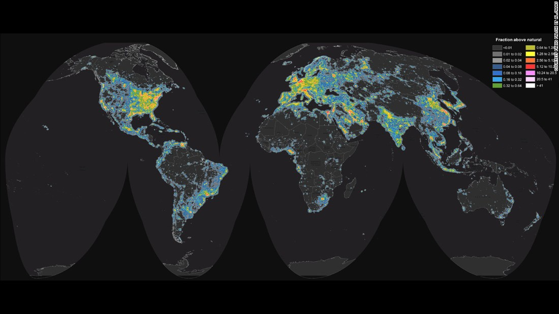 Light Pollution Dims Milky Way For One-third Of The World