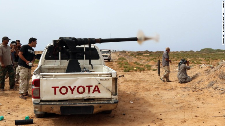 U.S. launches airstrikes against ISIS in Libya