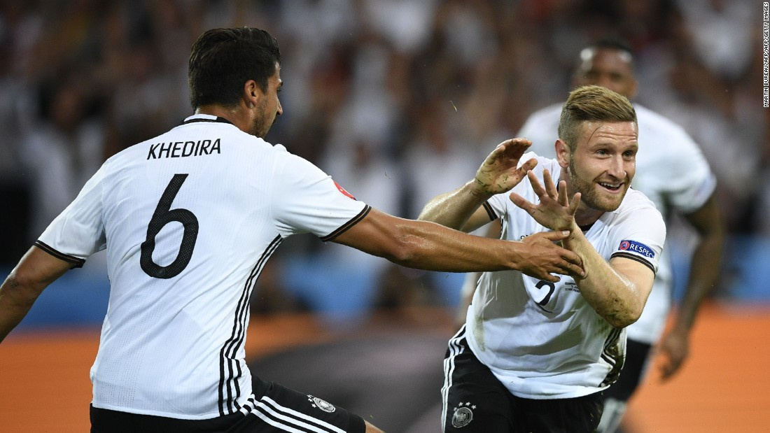 Soon after the Perez deal, Arsenal also confirmed the signing of Germany defender Shkodran Mustafi (pictured right at Euro 2016) from Valencia. The fee was undisclosed but British media reported it to be above £30 million ($39 million).