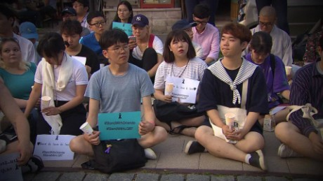 Global vigils held for Orlando shooting victims