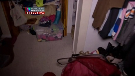 Univision reporter Juan Carlos Aguiar goes inside the apartment of Omar Mateen, who killed 49 people at Pulse nightclub in Orlando.