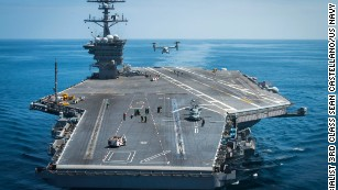 Iranian vessels conduct 'high-speed intercept' of US destroyer
