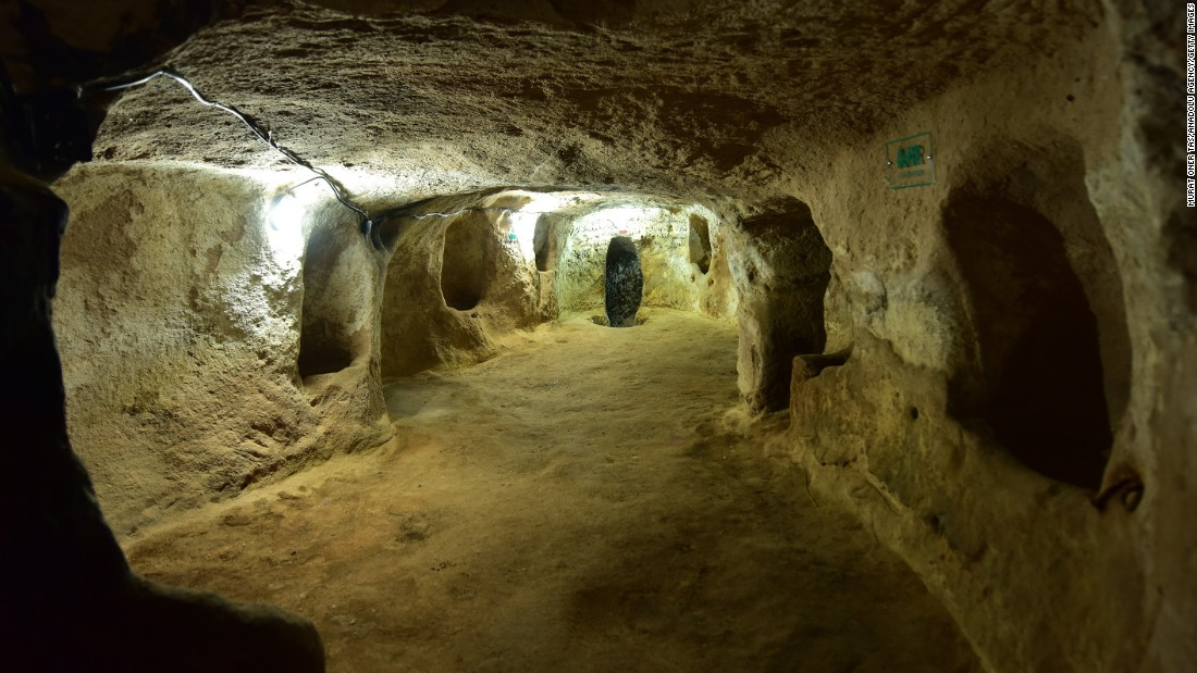 The underground city of St. Mercurius, in Turkey's Cappadocia region, opened to tourism in June 2016, after five years of work preparing the third-century site for visitors.