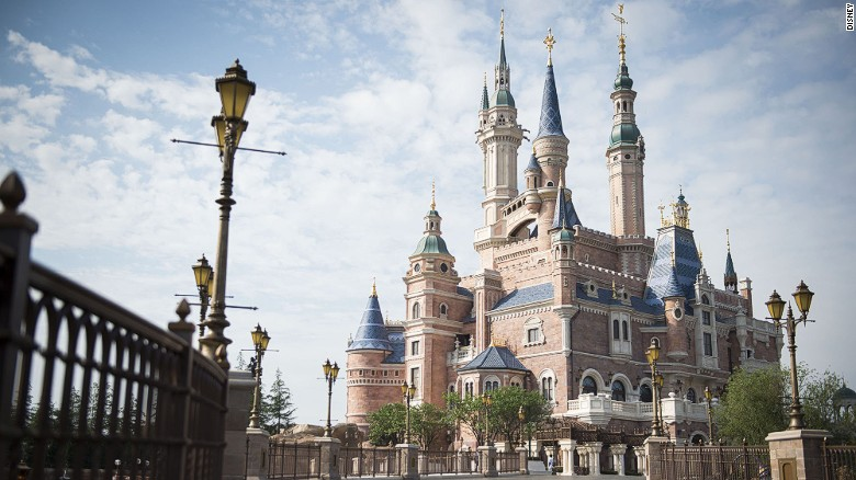 Shanghai Disney Resort is made up of Shanghai Disneyland, which has six themed lands, as well as Disneytown and the Wishing Star Park recreational area. There are also two hotels -- Shanghai Disneyland Hotel and Toy Story Hotel.