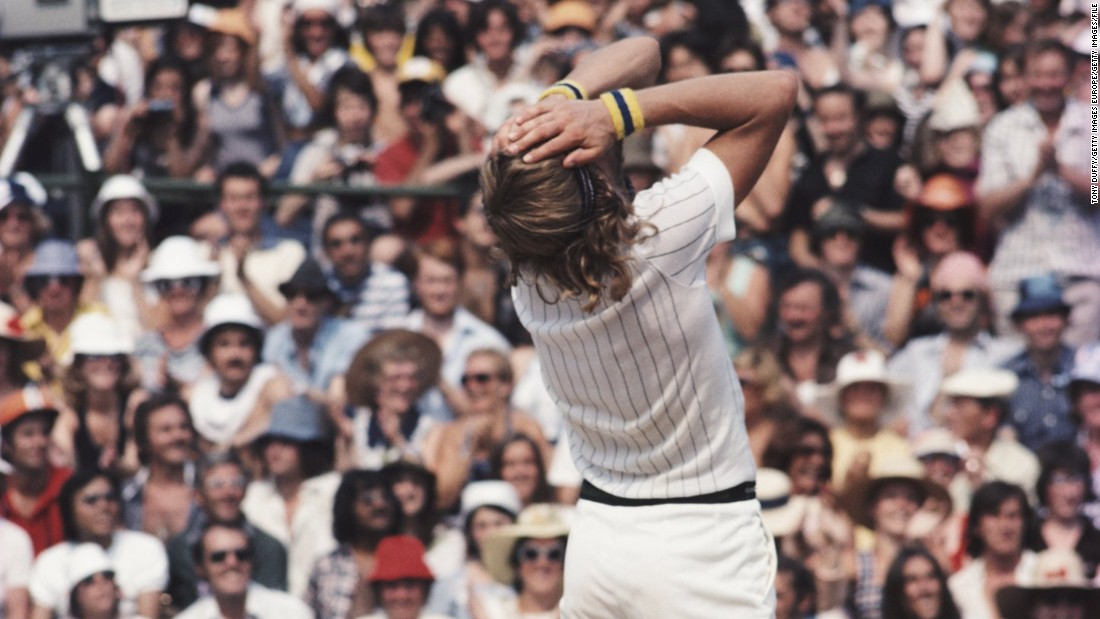 But he soon conquered his difficulties -- in 1976 he began his five-year victory spree at the All England Club, winning the final against Romanian Ile Nastase.