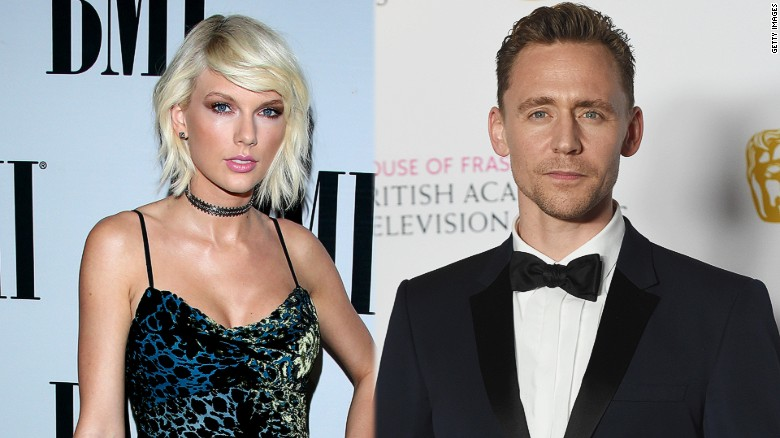 Taylor Swift locks lips with new man