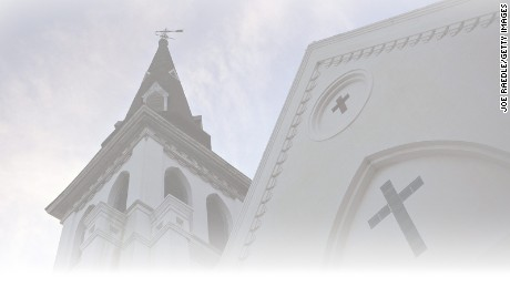 CHARLESTON, SC - JUNE 22: The Emanuel African Methodist Episcopal Church is seen after a mass shooting five days that killed nine people, on June 22, 2015. 21-year-old Dylann Roof is suspected of killing nine people during a prayer meeting in the church in Charleston, which is one of the nation's oldest black churches.