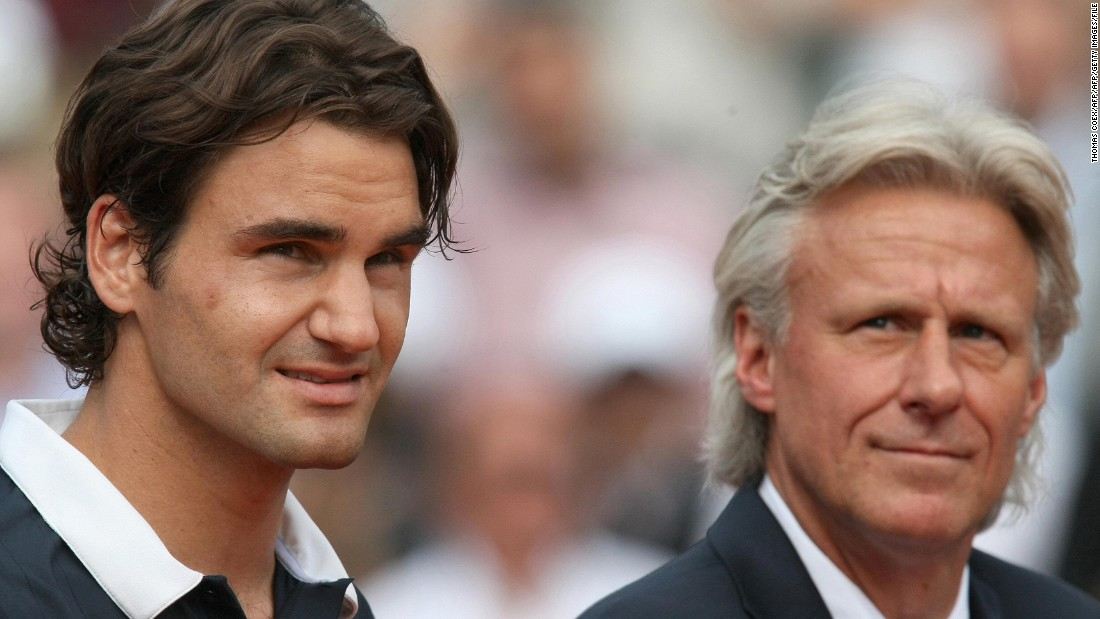 """Borg is a big fan of Roger Federer, tipping him as one of the favorites to win Wimbledon 2016. """"What Federer did for tennis, it's unbelievable. Up to this point, he's the greatest player that ever played the game."""""""