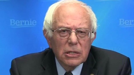 Bernie Sanders pledges to defeat Donald Trump vosot cnni_00001617