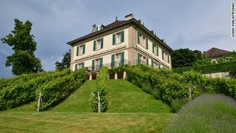 Villa Diodati: Byron's hangout.