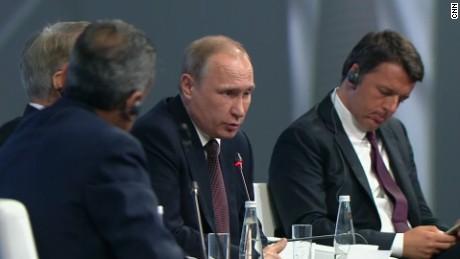 President Putin gives rare access to CNN