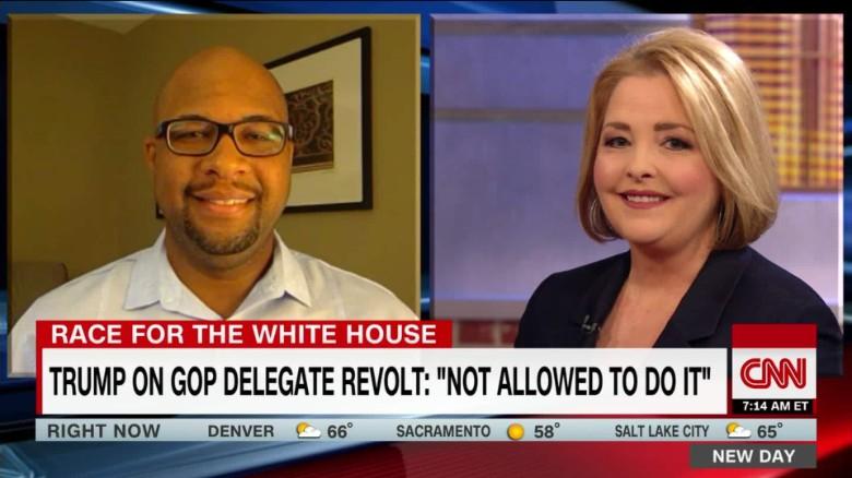 "Trump on GOP delegate revolt: ""not allowed to do it"""