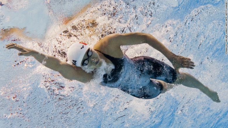 Hong Kong swimmer back in Olympic form