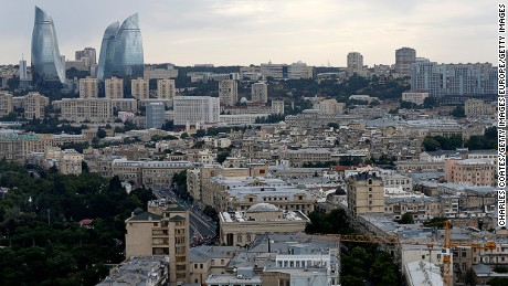 BAKU, AZERBAIJAN - JUNE 17: A general view over the circuit during practice for the European Formula One Grand Prix at Baku City Circuit on June 17, 2016 in Baku, Azerbaijan.  (Photo by Charles Coates/Getty Images)