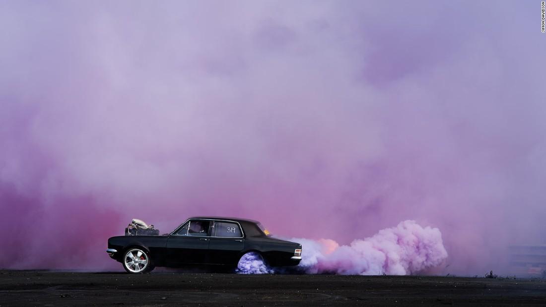 Photographer Simon Davidson has built a career out of photographing Australia's unique custom car culture.