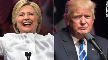 Clinton seizes opening as Trump alienates big business