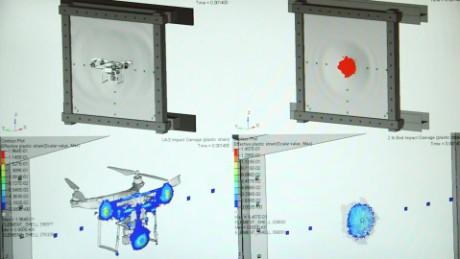 Drones Airplanes Collision FAA Testing AR ORIGWX_00002711