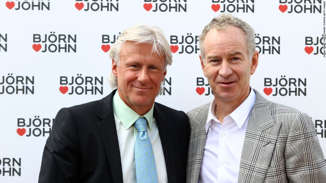 """<a href=""""http://edition.cnn.com/2011/SPORT/tennis/07/18/tennis.borg.cash.interview/"""">Borg said McEnroe called him repeatedly</a> asking him to reconsider his retirement -- he missed their rivalry. Later, in 2011, the pair teamed up to launch an underwear collection for the Bjorn Borg clothing brand."""