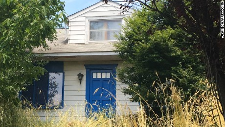 Authorities say 12 girls lived inside this home with Lee Kaplan.