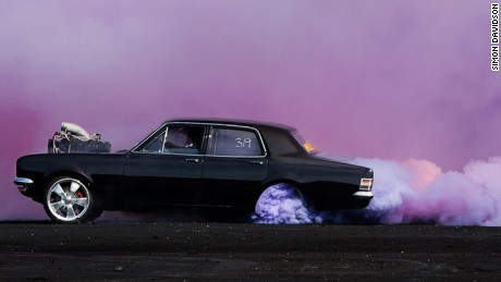Burnout: The photographer who found beauty in hot rods