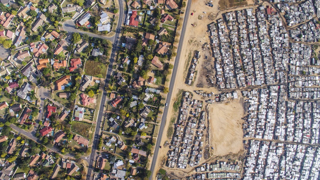 Drone Photographs Of South Africa Show Racist Architecture