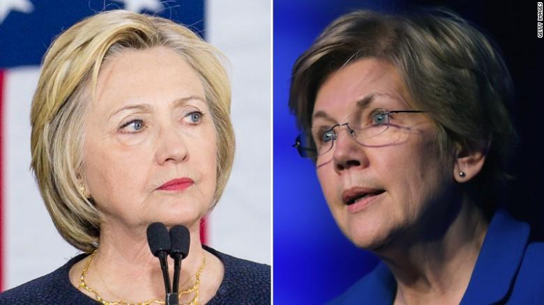 Could Elizabeth Warren be Clinton's VP?
