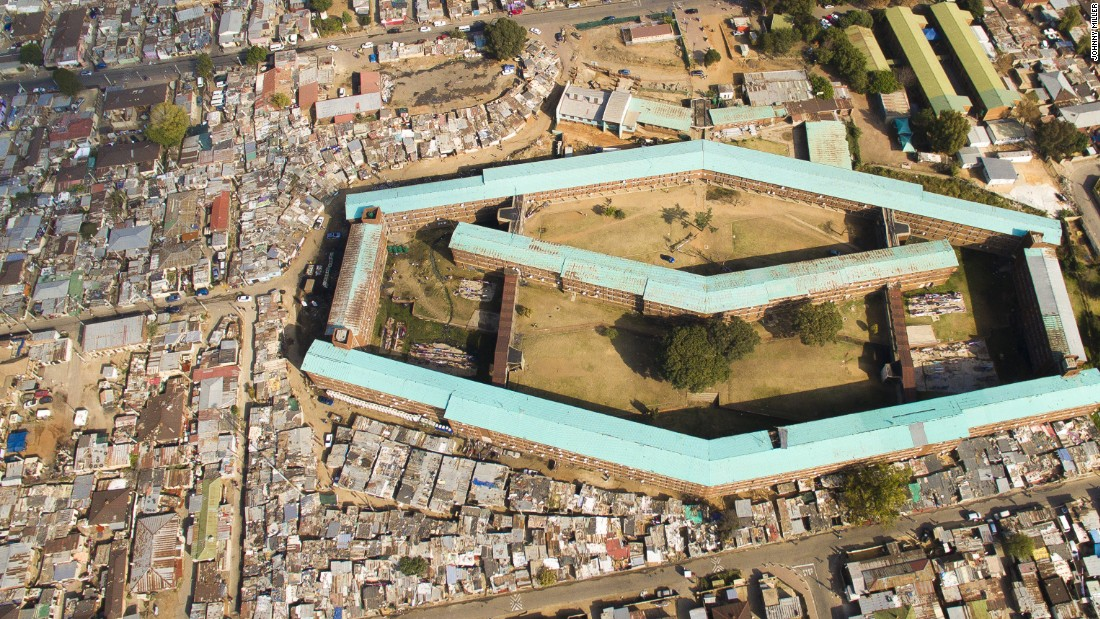 """According to Miller, Alexandra is an area people think of as the most unequal area in South Africa. """"You have slum townships right next to the financial district of South Africa."""""""