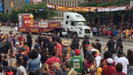 "Cleveland Cavaliers fans are getting what they wanted: A chance to see their World Champions parade through the streets of ""Believeland"" in Ohio."