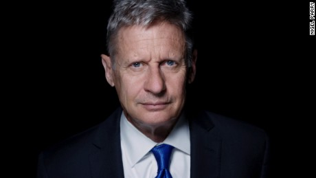 gary johnson aleppo