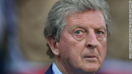 Roy Hodgson won just three of 11 games in major tournament finals.