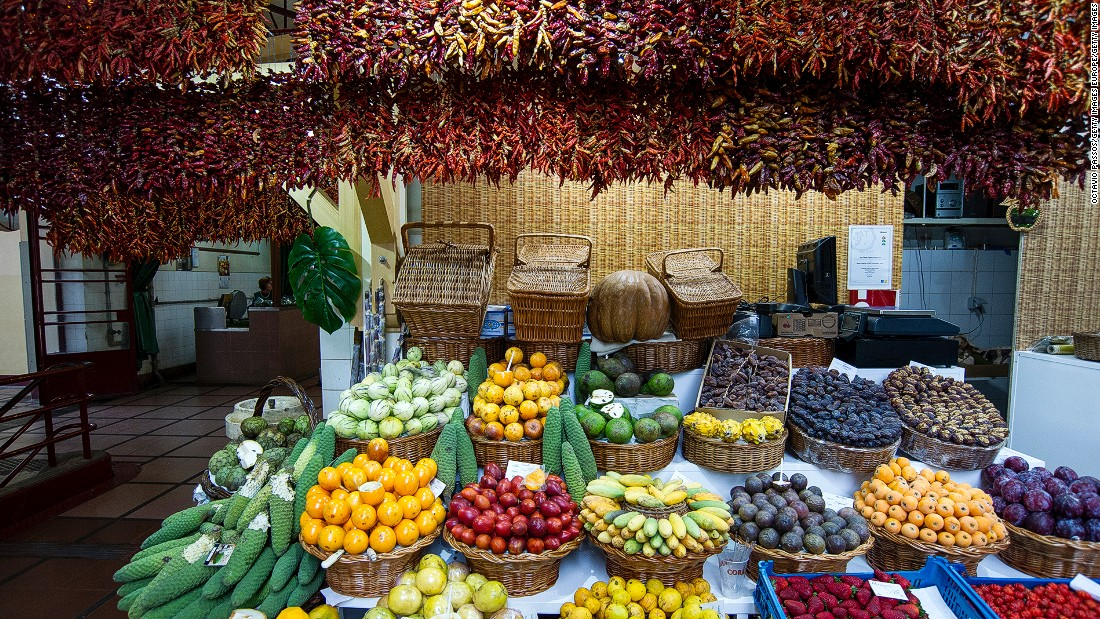 With a daily show of fresh fish, colorful fruit and grizzly selections of offal, markets have become a popular tourist attraction in Portugal.
